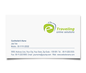 Business Card printing E-Travel
