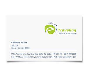 Business Card printing E-Travel