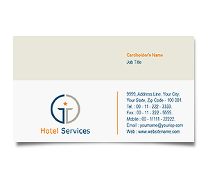 Business Card printing Star Hotel
