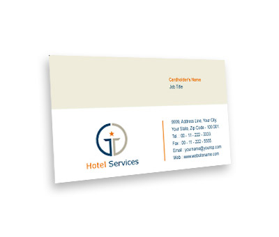 Online Business Card printing Star Hotel