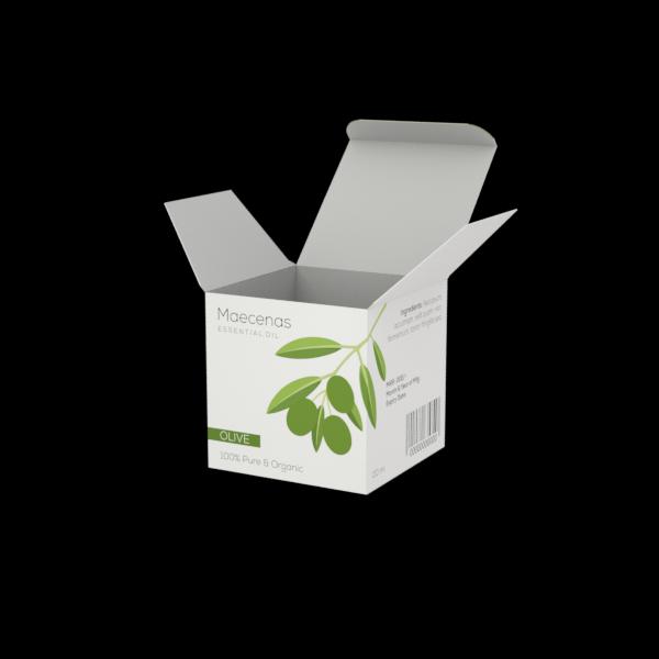 Online Custom Boxes printing Massage Oil Box - 2.6X2.6X2.6