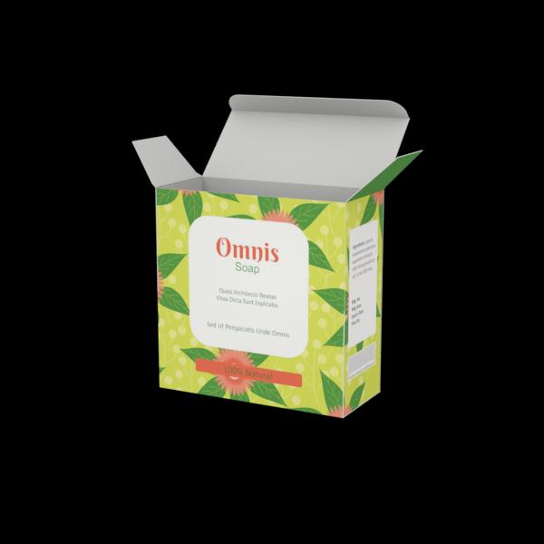 Online Custom Boxes printing Soap Box-4X1.75X4