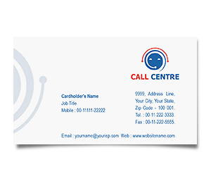 Business Card printing Call Centre Business