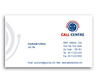 Online Business Card printing Call Centre Business