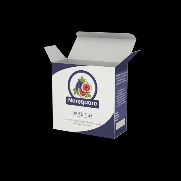 Online Custom Boxes printing Diet Fruit Box-4X1.75.X4