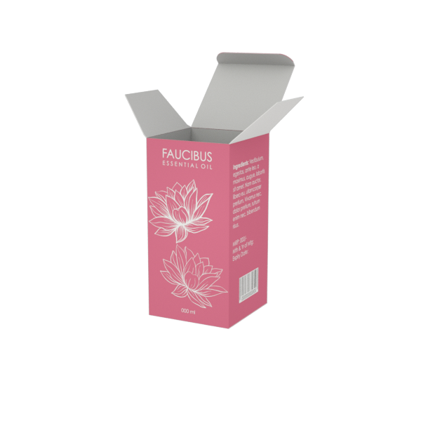 Online Custom Boxes printing Oil Product Box- 2.5X2.5X5