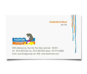 Business Card printing Women Fashion