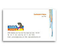 Online Business Card printing Women Fashion