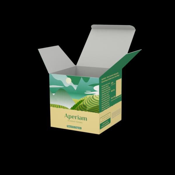 Online Custom Boxes printing Nuts Box - 4X4X4