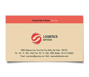 Business Card printing Global Logistics