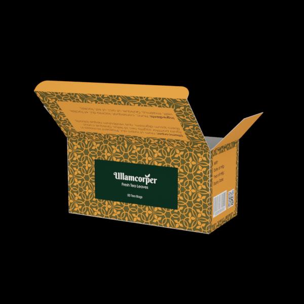 Online Custom Boxes printing Tea Box - 6X2.8X3