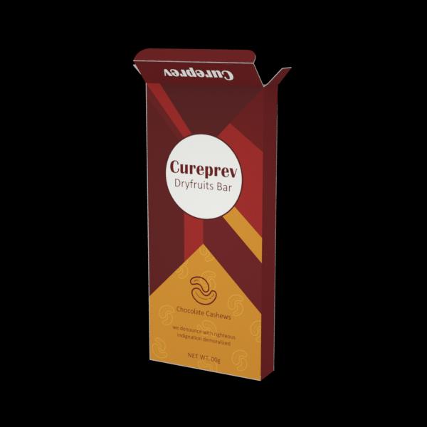 Online Custom Boxes printing Packaging Box for Dry Fruit Bar