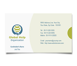 Business Card printing Social Research