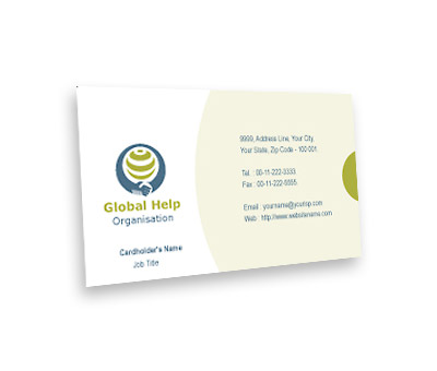 Online Business Card printing Social Research