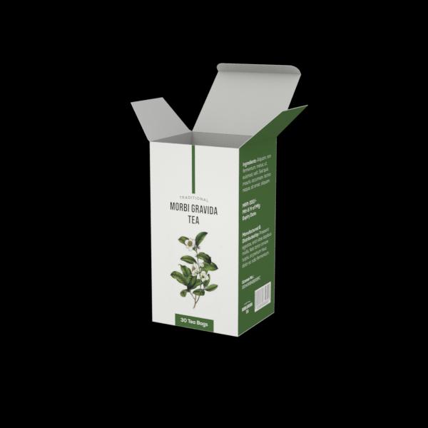 Online Custom Boxes printing Tea Box - 3.7X3.2X7