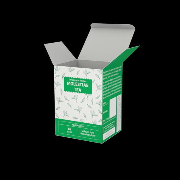 Online Custom Boxes printing Tea Box - 3.7X3.2X5