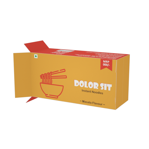 Online Custom Boxes printing Instant Noodles Box