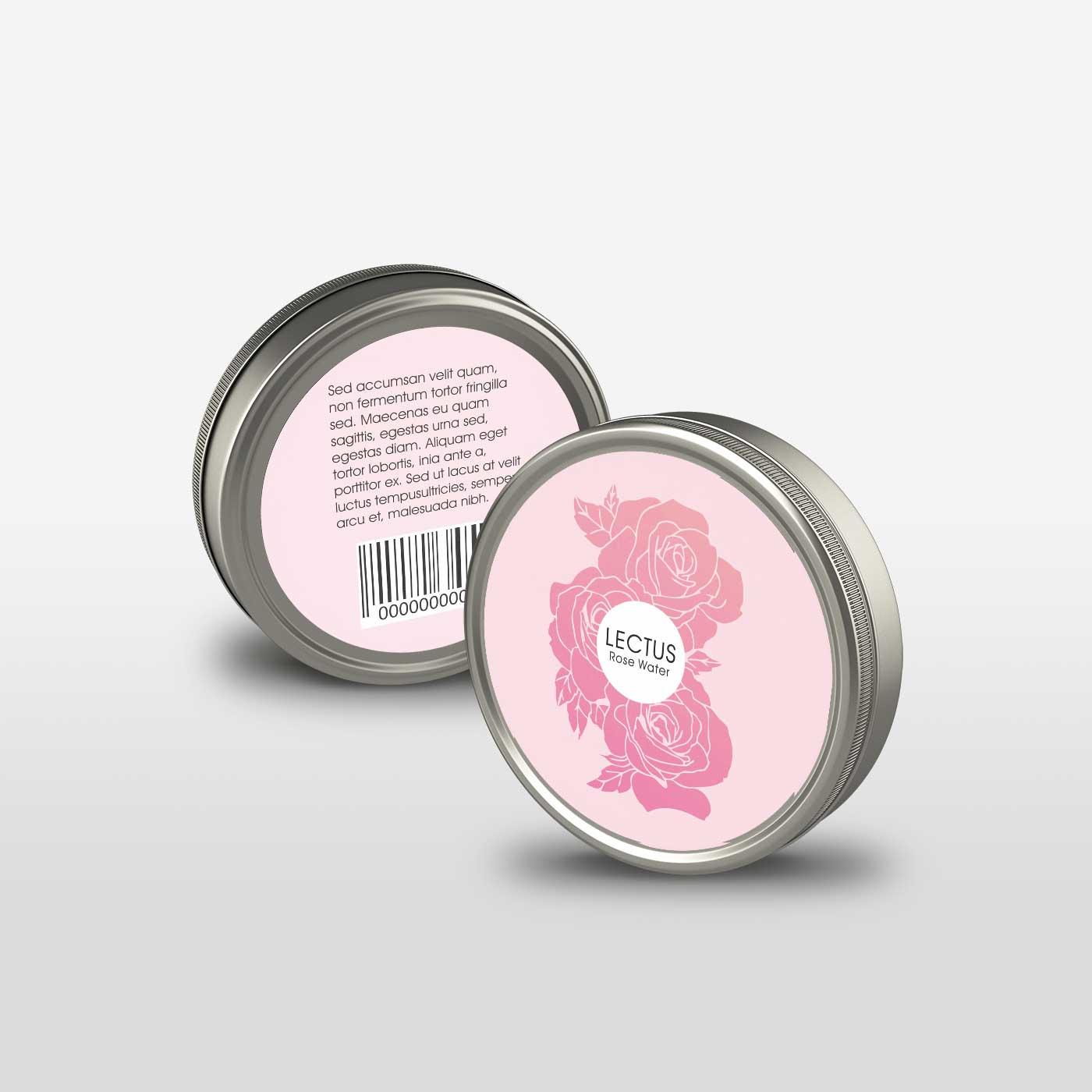 Labels printing Face Cream  Label 3X3