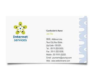 Business Card printing Dsl Internet Service
