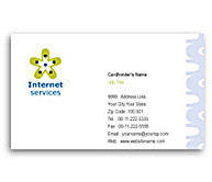 Online Business Card printing Dsl Internet Service