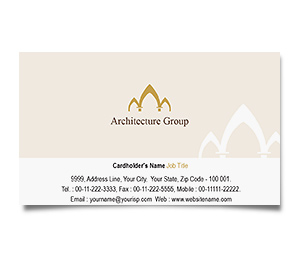 Business Card printing Architecture Group