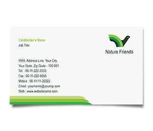 Business Card printing Bird House