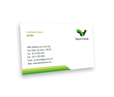 Online Business Card printing Bird House