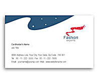 Online Business Card printing Fashion Export