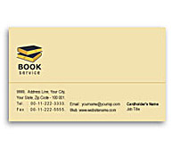 Online Business Card printing Library Book Sale