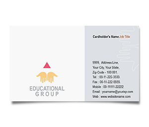 Business Card printing Education Department