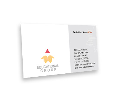 Online Business Card printing Education Department