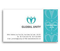 Online Business Card printing Global Unity
