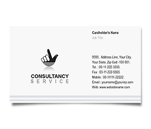 Business Card printing Consulting Services