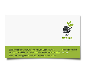 Business Card printing Tree Harvest