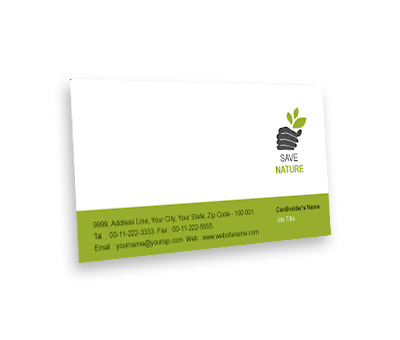Online Business Card printing Tree Harvest