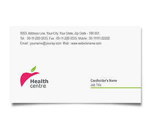 Business Card printing Home Health Care