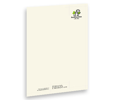 Online Letterhead printing Home Construction