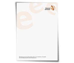 Letterhead printing Web Developer