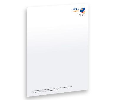 letterhead design for film production offset or digital printing