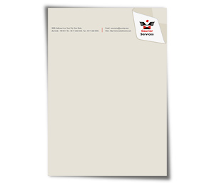 Letterhead printing Courier Service