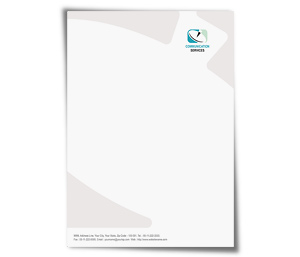 Letterhead printing Data Communication