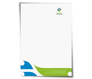 Letterhead printing Electronics Components