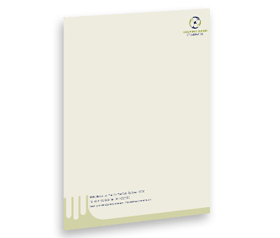Online Letterhead printing Social Services