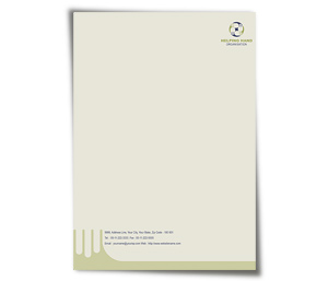 Letterhead printing Social Services