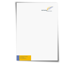 Letterhead printing Computer Network Support