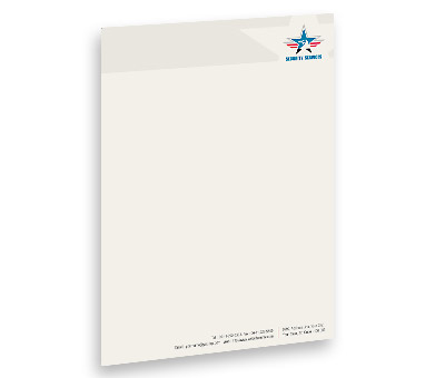 Online Letterhead printing Security Service
