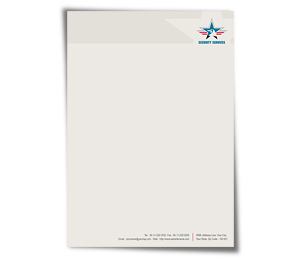 Letterhead printing Security Service