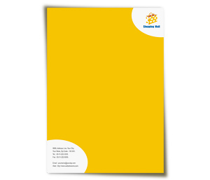 Letterhead printing Shopping Mall