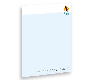 Online Letterhead printing Yachting Club