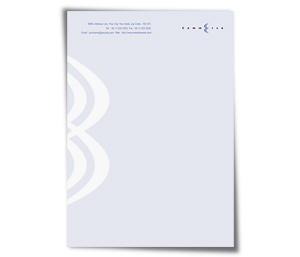 Letterhead printing Finance Brokers